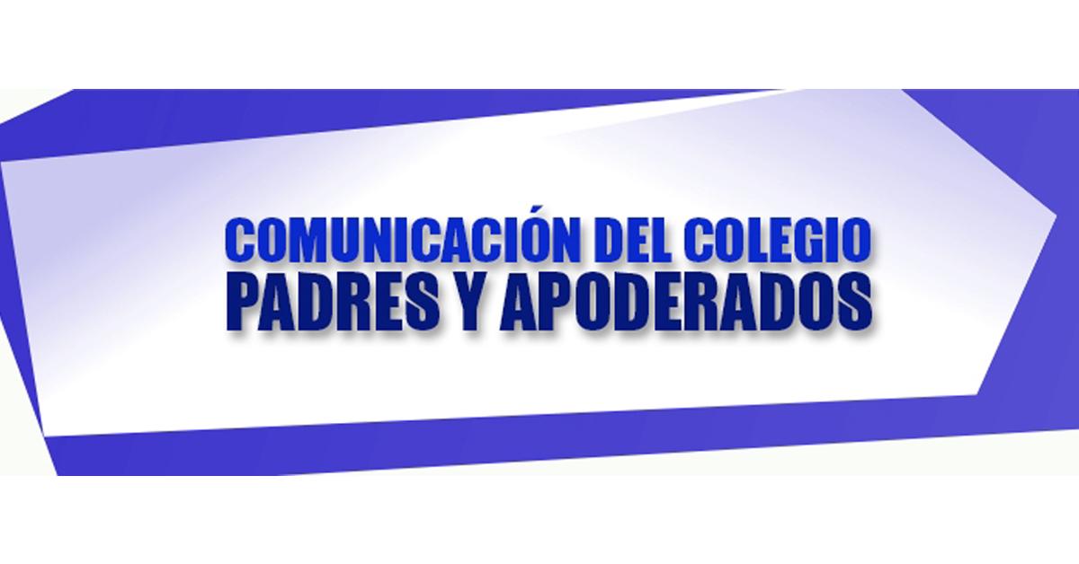 Comunicación Padres Y Apoderados