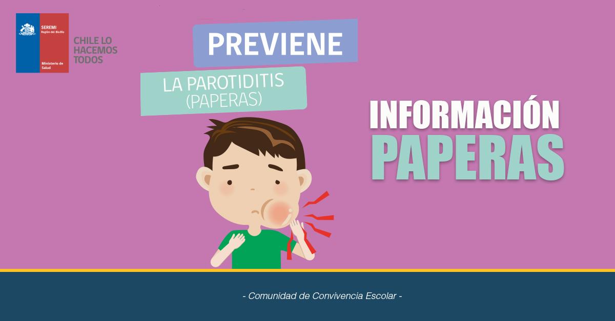 Información Sobre Parotiditis (paperas)