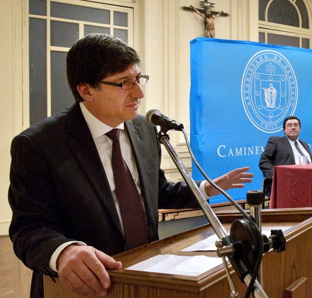 Marcial Sánchez, Historiador De La Iglesia En Chile
