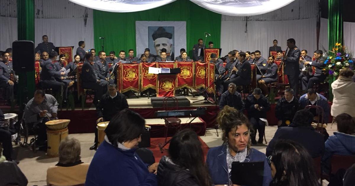 Pastoral Juvenil Solidaria Participa De En La Presentación De La Banda Sin Límites Del Hogar San Ricardo De Batuco