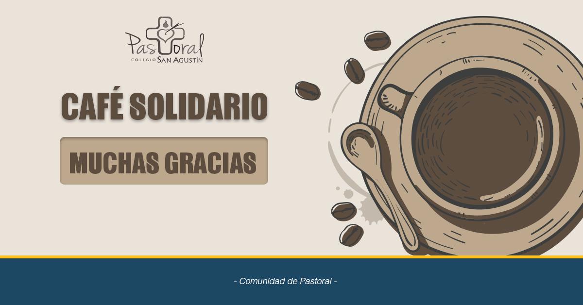 Agradecimientos 3º Café Solidario