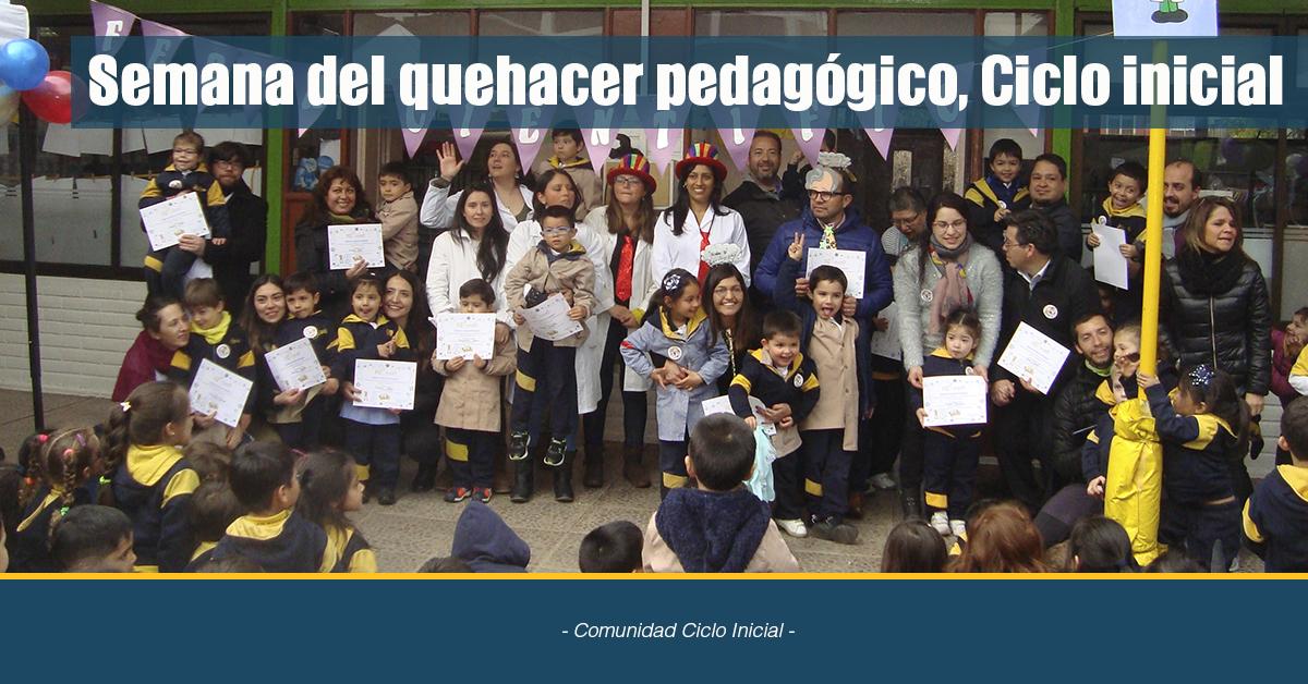 Semana Del Quehacer Pedagógico, Ciclo Inicial