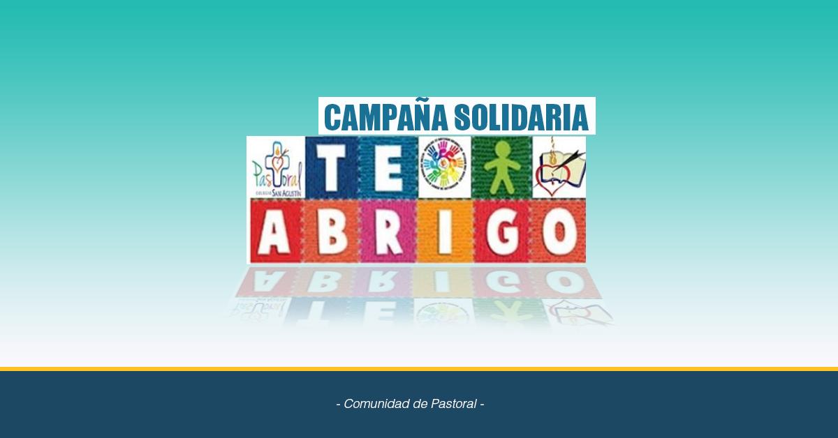 Campaña Solidaria Te Abrigo