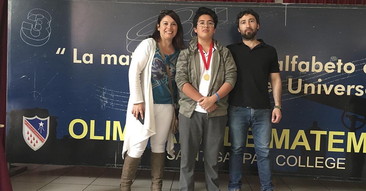 Premiación Olimpiada Matemática