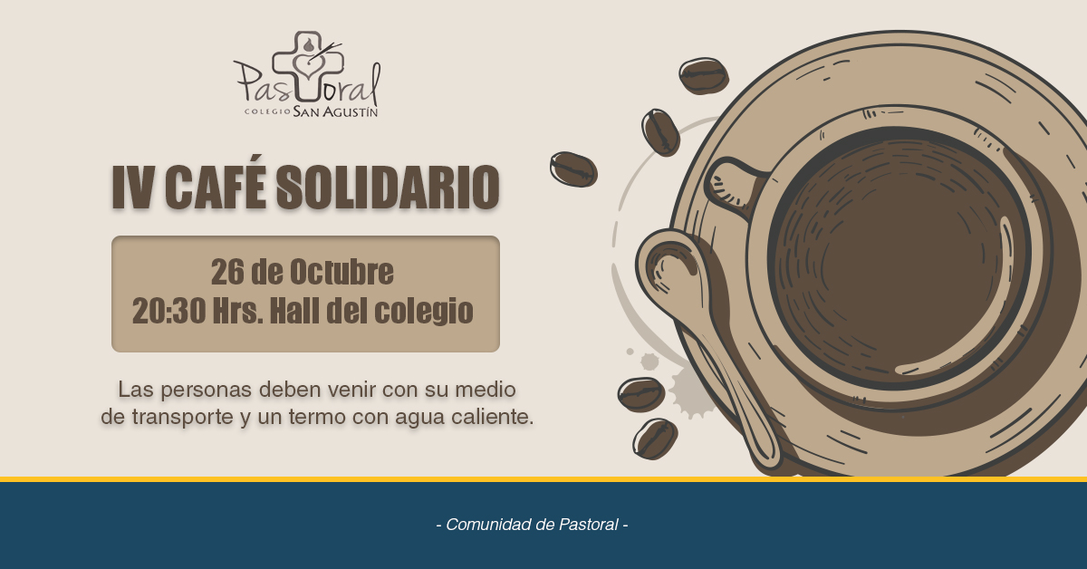 IV Café Solidario 26 De Octubre