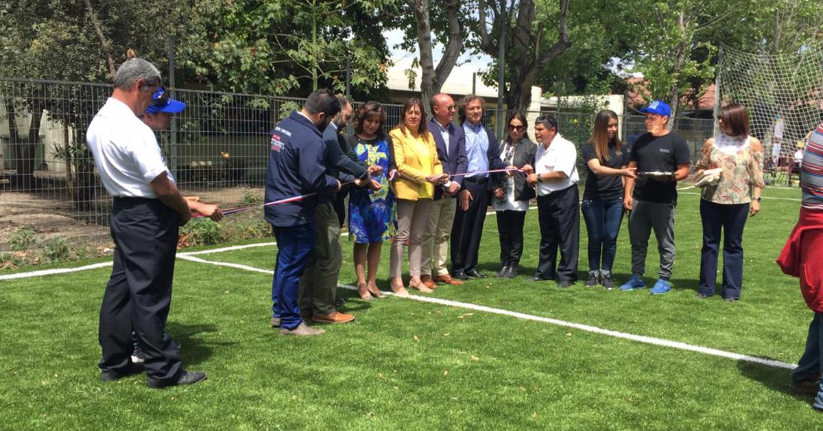Inauguración – Cancha De Fútbol – Hogar San Ricardo De Batuco