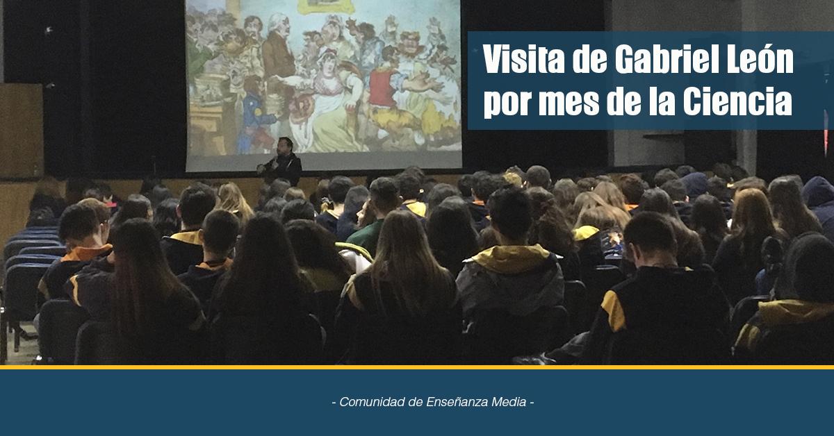 Visita De Gabriel León Por Mes De La Ciencia