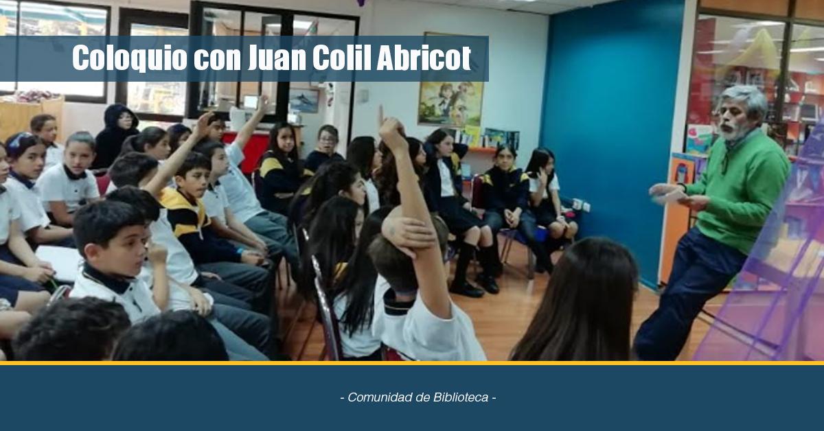 Coloquio Con Juan Colil Abricot