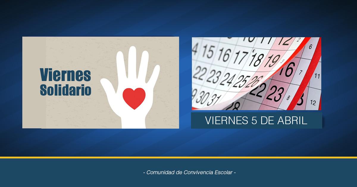 Viernes Solidario 5 De Abril
