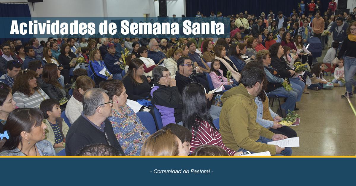 Semana Santa En El Colegio San Agustín