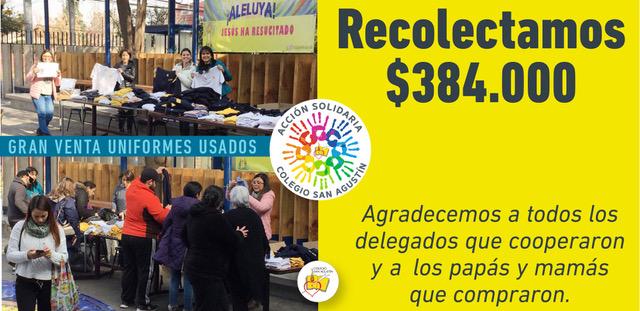 Venta De Ropa Del Colegio Usada Acción Solidaria 21 De Junio