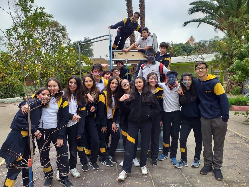 Salida Solidaria 8ºB – Jardín Campanita De Ñuñoa.