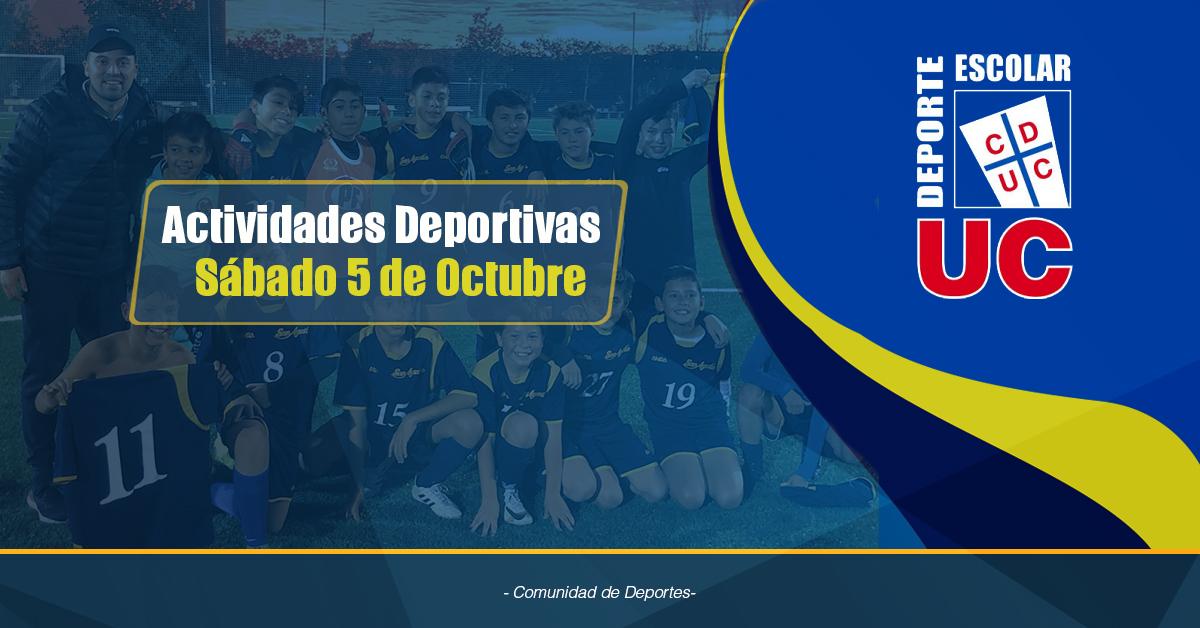 Actividades Deportivas 5 De Octubre