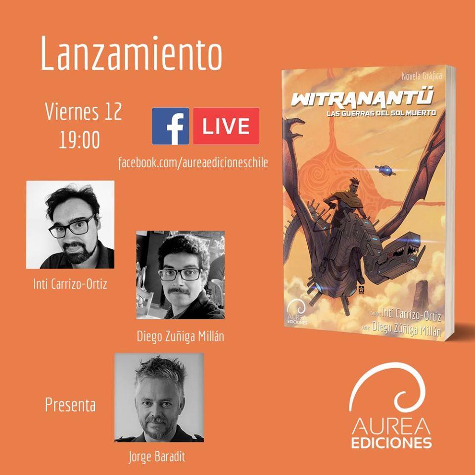 Lanzamiento de libro de Inti Carrizo-Ortiz