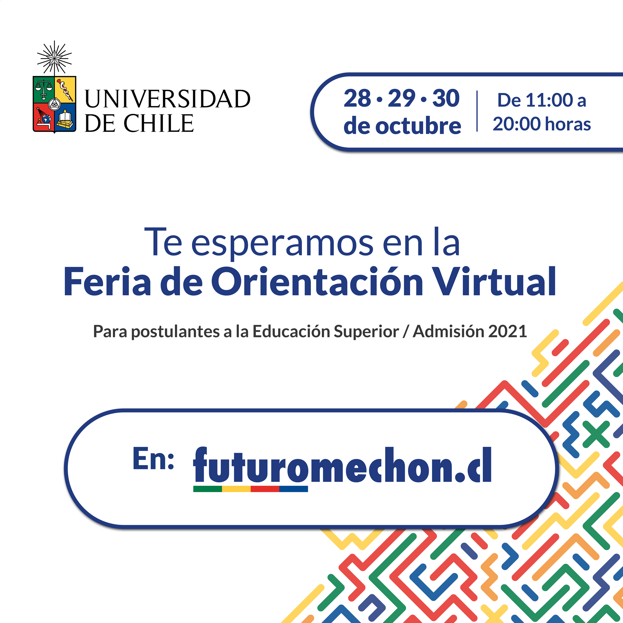 Feria Virtual De Orientación Futuro Mechón U. De Chile